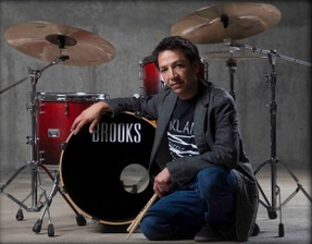 David Flores,drums,drummer,drummers,music instructors,music teachers,Afro-Carribean, funk,straight-ahead jazz,Oakland Symphony